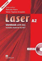 Laser 3rd Edition A2 WorkBook with key and Audio CD-ROM (Рабочая тетрадь)