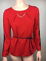 Изящная блуза Цвет Красный Код 10