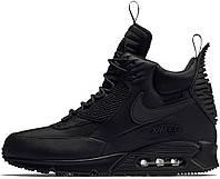 Мужские кроссовки Nike Air Max 90 Sneakerboot Winter Black