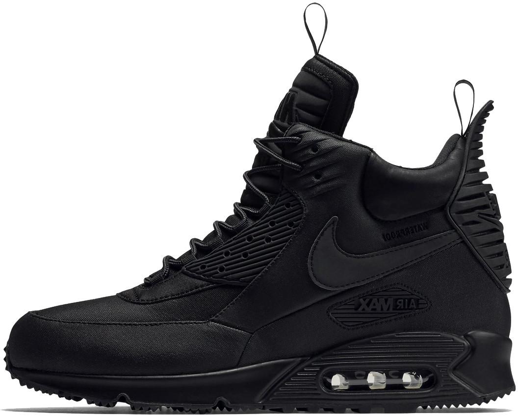 71d26752324c Мужские кроссовки Nike Air Max 90 Sneakerboot Winter Black -  Интернет-магазин обуви и одежды