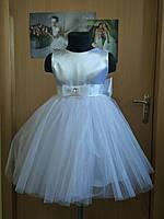 Детское платье белое разм.104-110