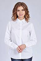 Классическая белая рубашка из хлопка  S,L