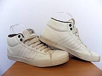 Кроссовки Adidas 100% Оригинал р-р 44,5 (28,5см)  (б/у,сток) адидас высокие белые original