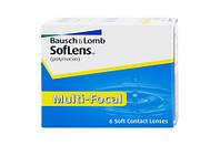 Контактные линзы(+подарок) на 1 месяц Soflens Multi-Focal, (6шт)