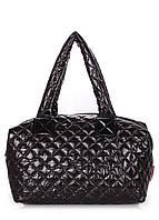 Дутая женская сумка из ткани