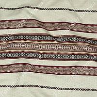 Ткань с вышивкой для скатерти Свитязь ТДК-10 1/1