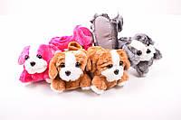 Тапочки комнатные детские Собачки 1395-1 Размер:20,22,24,26,28,30