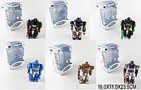 Робот батар. 904/905/906/907/908/909 6 видів, світло, звук