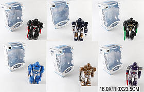 Робот батар. 904/905/906/907/908/909   6 видов, свет, звук