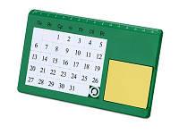 """Календарь вечный """"Плано"""" настольный, зеленый"""