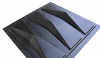 """Пластиковая форма для 3d панелей """"Оригами"""""""