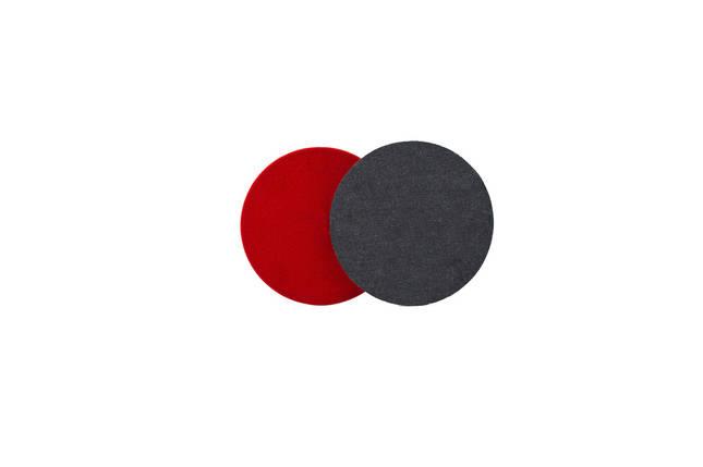 """Полировальный круг джинсовый - Flexipads Denim 80 мм. (3"""") серый (DP300), фото 2"""