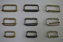 Металлическая рамка с перегородкой цвет никель