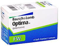 Линзы контактные(+подарок) на 3 месяца (4шт) Optima FW.