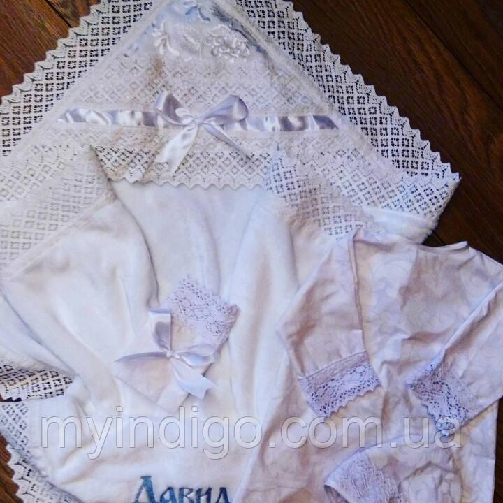 Комплект для хрещення дитини Сакура 3 предмета