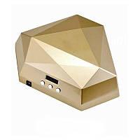 LED Лампа для гелевого наращивания 60W на две руки золото