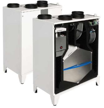 Приточно-вытяжная установка Salda Smarty 3X P 1.2 , фото 2