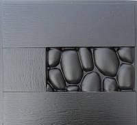 """Пластиковая форма для 3d панелей """"Камни в дереве"""""""