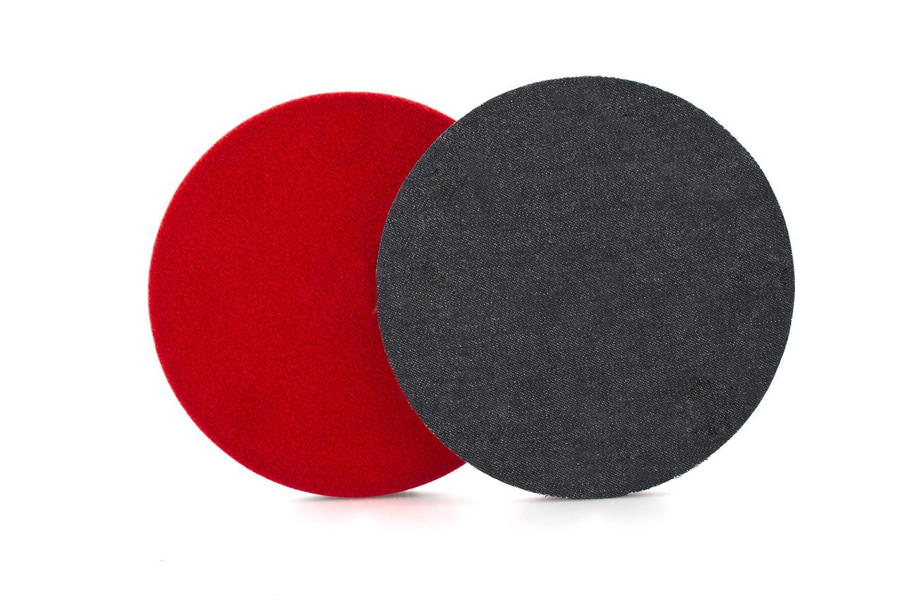 """Полірувальний круг джинсовий - Flexipads Denim 150 мм (6"""") сірий (DP600)"""