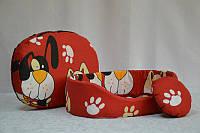 Лежак для котов и собак  из бязи, хб