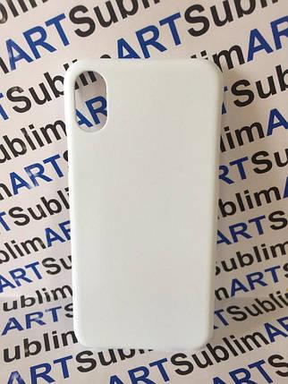 Чехол для 3D сублимационной печати на Iphone X матовый, фото 2