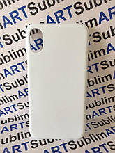 Чехол для 3D сублимационной печати на Iphone X матовый