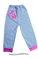 Спортивные детские штаны для девочки