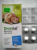 Дронтал таблетки от глистов для котов