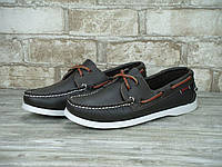 Мужские топсайдеры Sebago Docksiders Brown White top sider