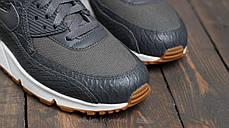 Женские кроссовки Nike WMNS Air Max 90 Premium Dark Grey, Найк Аир Макс 90, фото 3