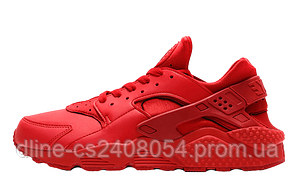 Женские кроссовки Nike Huarache Red
