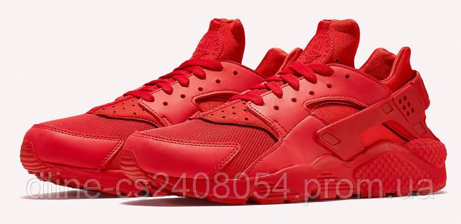 Мужские кроссовки Nike Huarache Red