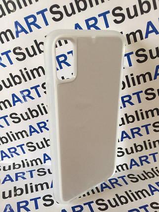 Чехол для 2D сублимации резиновый (TPU) Iphone XsMax прозрачный, фото 2