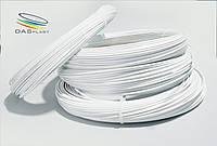 АБС нить 100 гр ABS пластик 1.75 мм  для 3d печати, белый