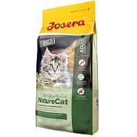 Josera (ЙОЗЕРА) NATURE CAT 10кг– беззерновой корм для кошек с мясом домашней птицы и лососем, экстрактами трав