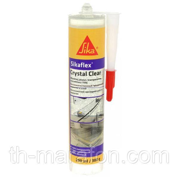 Sikaflex Crystal Clear Прозрачный клей-герметик