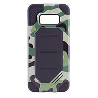 TPU+PC чехол MOTOMO (Military) для Samsung G950 Galaxy S8 Зеленый / Камуфляж