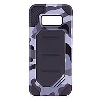 TPU+PC чехол MOTOMO (Military) для Samsung G950 Galaxy S8             Серый / Камуфляж