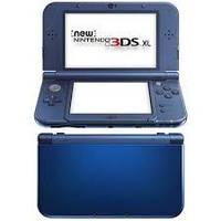 New Nintendo 3DS XL Metallic Blue + Mario Party Island Tour