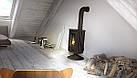 Отопительная печь-камин длительного горения Masterflamme Piccolo II (черный), фото 4
