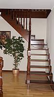 Лестницы из дерева в доме под заказ
