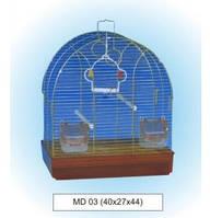 Клетка для птиц Foshan (Фошан) MD 03 (40х27х44см), цинк.