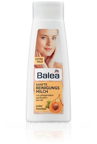 Balea Sanfte Reinigungsmilch - мягкое очищающее молочко для любой кожи, 200мл, фото 1
