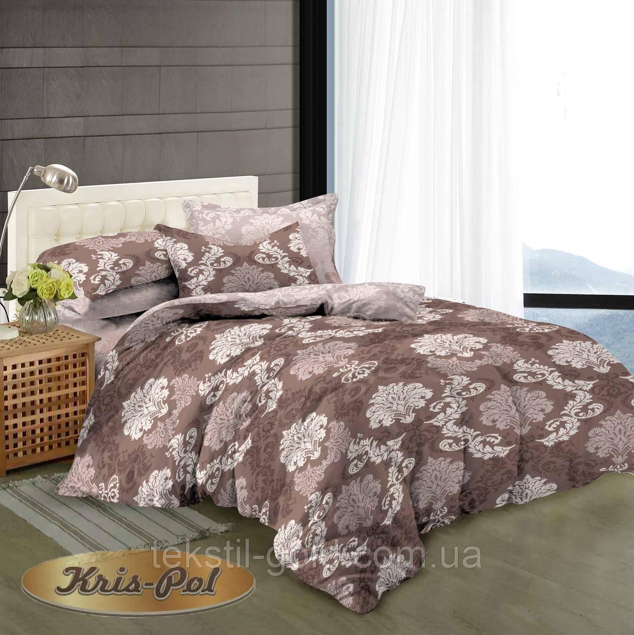 1,5-спальный комплект постельного белья с компаньоном ТМ Kris-pol (Украина) сатин хлопок 169153