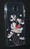 Чехол силиконовый Samsung J530/J5 2017, Diamond