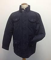 Куртка для мальчика демисезонная Bimbus синяя удлиненная