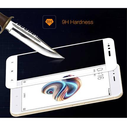 Защитное стекло Mocolo 2.5D 9H на весь экран для Xiaomi Mi 5X A1 белый, фото 2