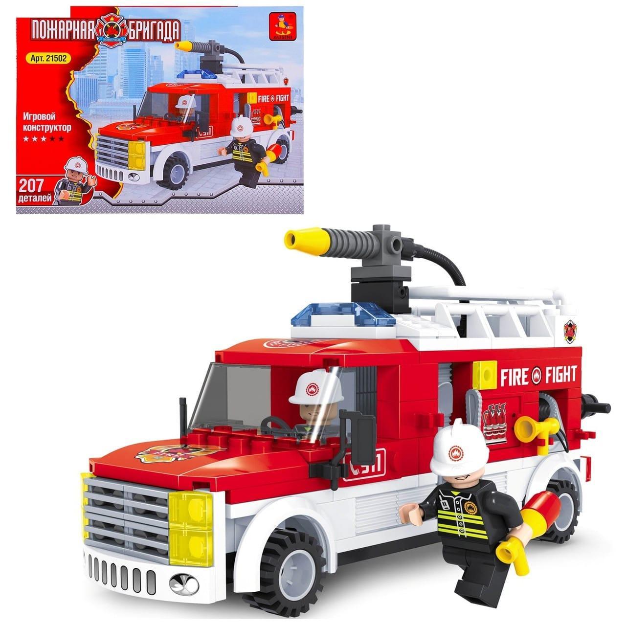Конструктор Пожарная бригада