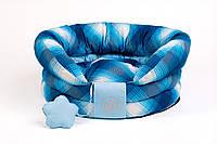 Лежак для собак ZOOM Bizet №2 (60*30см) синий