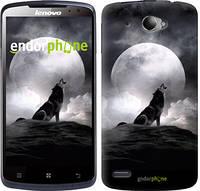 "Чехол на Lenovo S920 Воющий волк ""934c-53-4074"""